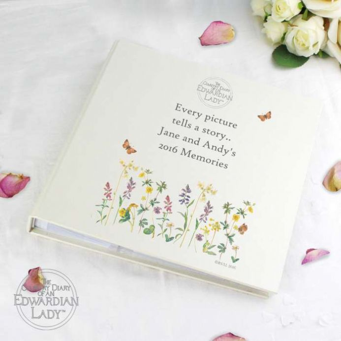 Personalised Country Diary Wild Flowers Photo Album | Personalised Gifts - The Present Season